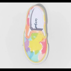 Cat & Jack Nelle Twin Gore Printed sneakers